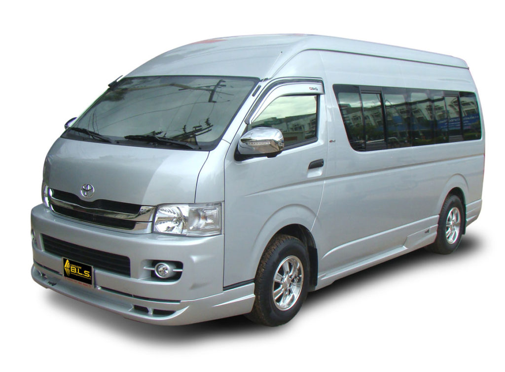 Minivans for Pattaya Chiang Mai
