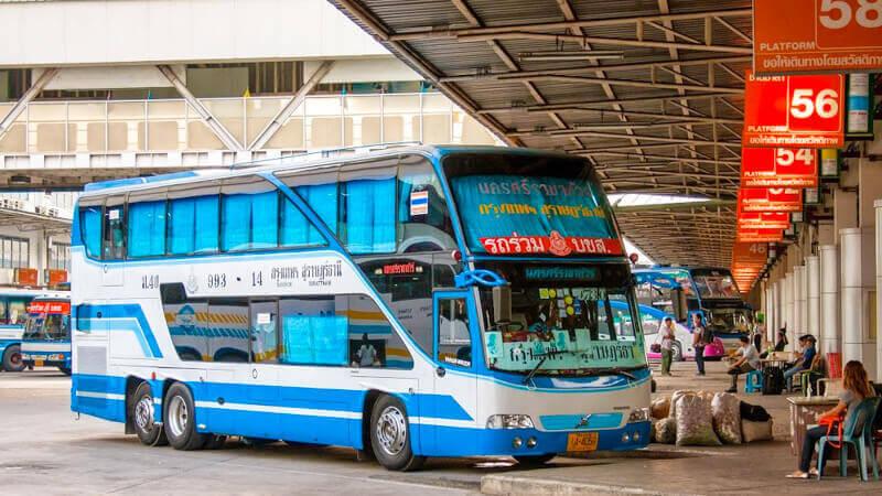 Bus Bangkok Hua Hin from Sai Tai Mai