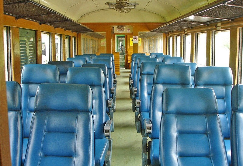 Second Class Fan Train