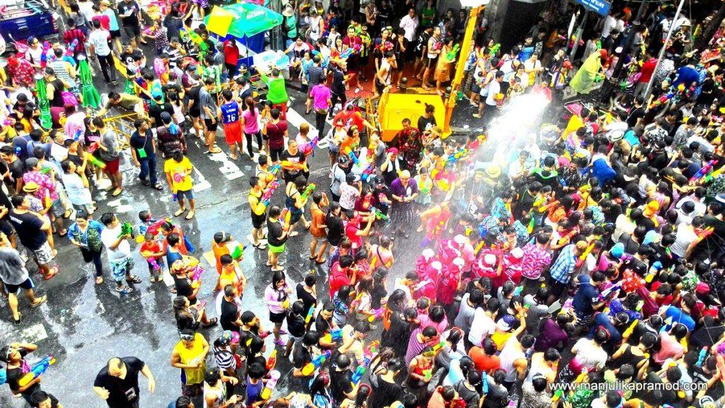 Thailand Festival Songkran