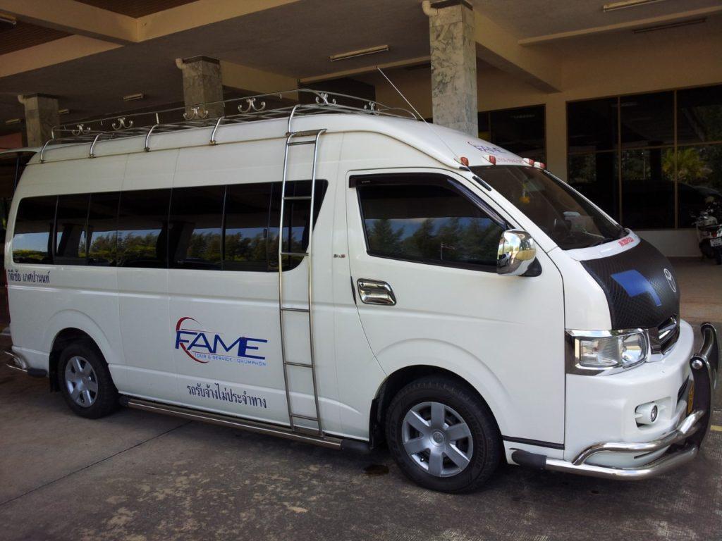Van Bangkok to Koh Tao