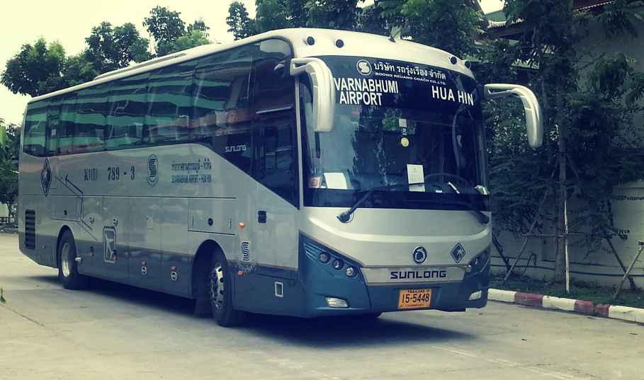 Bangkok Hua Hin from Suvrnabhumi Airport